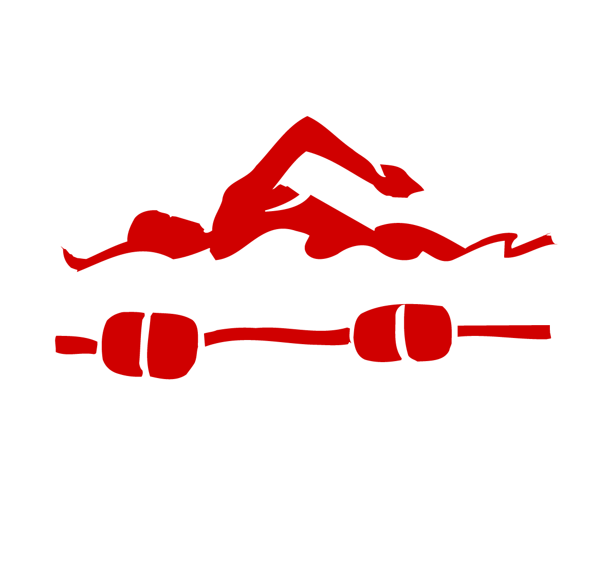 Swimmer red